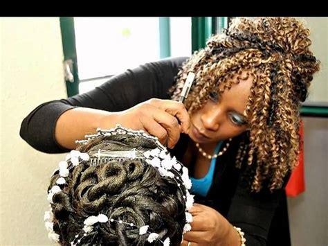 Maquillage marriage pour femme noire femme