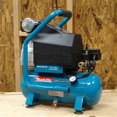 makita mac700 big bore 2 0 hp air compressor tank air compressors