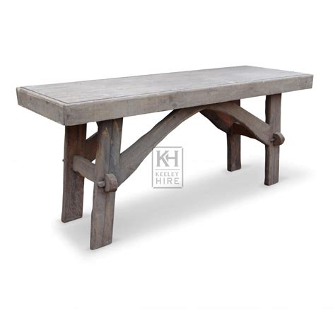 Sturdy Table by Prop Hire 187 Tables 187 Sturdy Wooden Table Keeley Hire