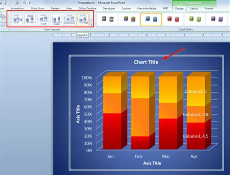 edit template powerpoint 2010 how to add title to a chart in powerpoint 2010
