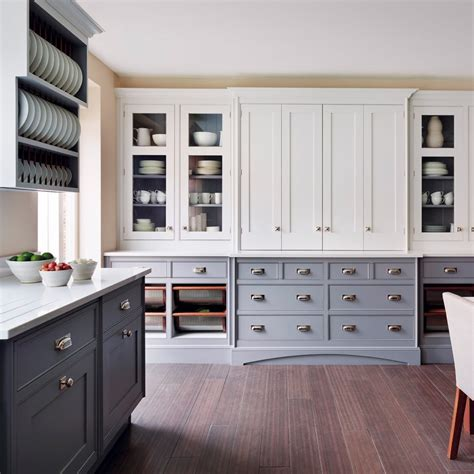 Two Island Kitchens wood flooring ideal home