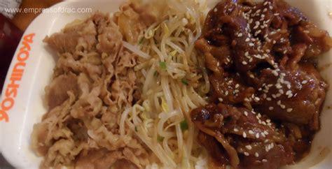 Beef Yakiniku By Roku Bento food review empress of drac