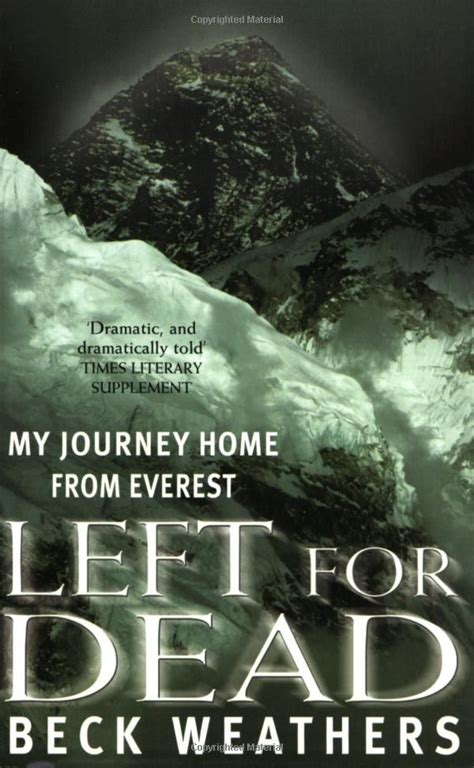 left for dead my journey home from everest co uk
