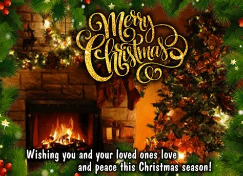 wishing  family  merry christmas  family ecards