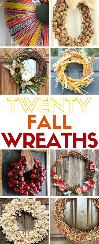 easy wreaths  fall easy fall wreaths wreaths