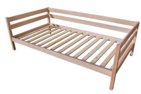 Wood Daybed Frame Dappled Path Solid Wood Daybed Frame