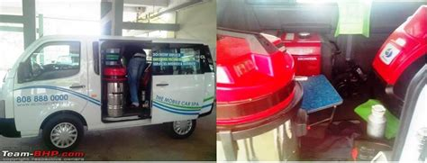 Mobile Interior Car Cleaning by Team Bhp Quot Green Quot Car Detailing At Your Doorstep Eco