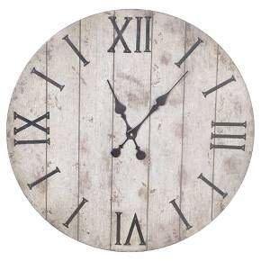 threshold washed wood l 25 best ideas about wall clock decor on pinterest large