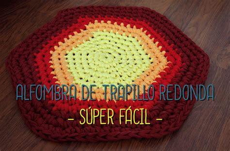 alfombra redonda de trapillo super facil missdiy