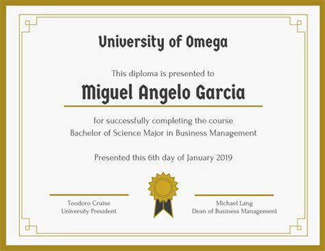diploma certificate diplomas para editar 100 s de formatos plantillas para