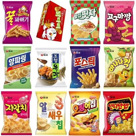 Korean Snack korean snack nongshim korea chips crackers choose in 9 food snacks ebay
