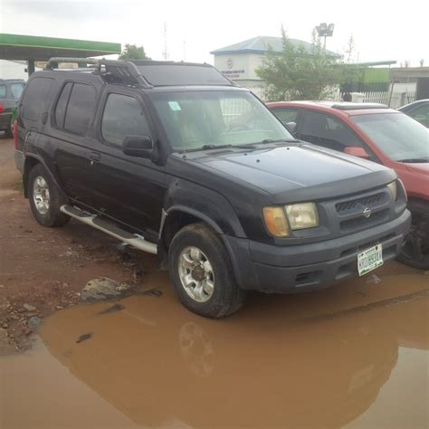 neatly used nissan xterra jeep 2001 model for sale 650k