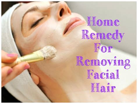 how to remove hair naturally at home