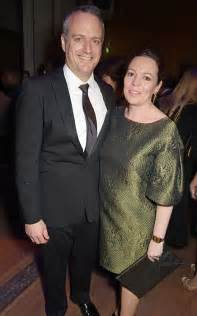 Pregnant olivia colman attends theatre gala with husband ed sinclair