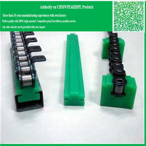 Anti Abrasion Extrusion Process Uhmwpe Nylon Plastic Guide