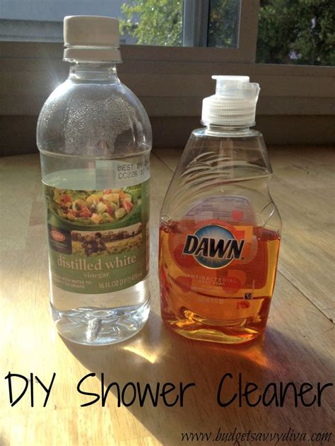 how to clean bathroom with vinegar 17 best ideas about homemade shower cleaner on pinterest