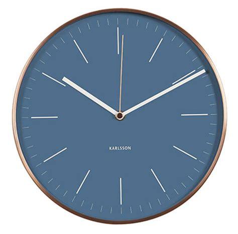 Uhr Karlsson by Karlsson Ka5507bl Wanduhr Bei Uhren4you De