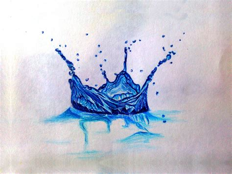 Drawing Water by Colored Water Splash Www Pixshark Images Galleries