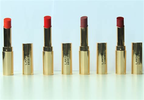 Lipstik Make No 4 review lakm 233 absolute argan lip color