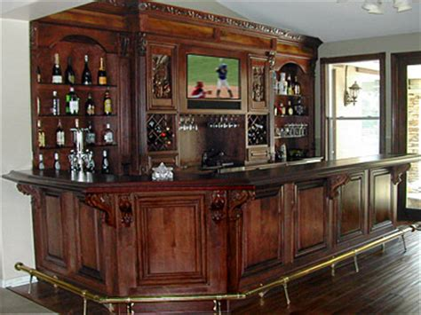 Small Wooden Home Bar Custom Built Home Bar Ideas In Ohio