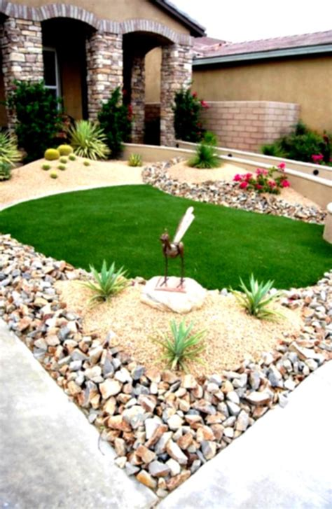 Garden Design With Rocks How To Create Low Maintenance Landscaping Ideas For Front Yard Homelk