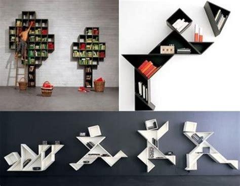 Creative Ideas For Home Interior futuristic bookshelf design model home interior design ideas