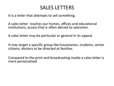 Sle Letter For Media Partnership Sales Letters