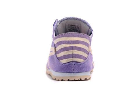 Po Onitsuka Tiger Mexico 66 Paraty Slip On Canvas White Pattern purple beige onitsuka tiger mexico 66 slip on shoes