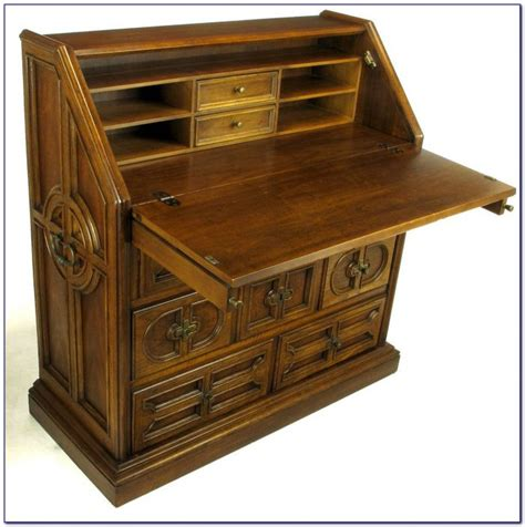 Small Drop Front Writing Desk Desk Home Design Ideas Small Drop Front Desk