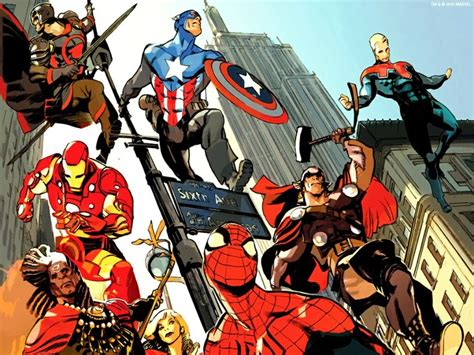 wallpaper mac marvel superheroes pictures 1024x768 spider man age of
