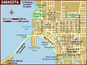 map sarasota florida usa map of sarasota