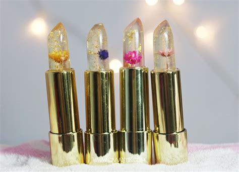 Lipstik Bunga Transparan review dan swatches kailijumei lipstick