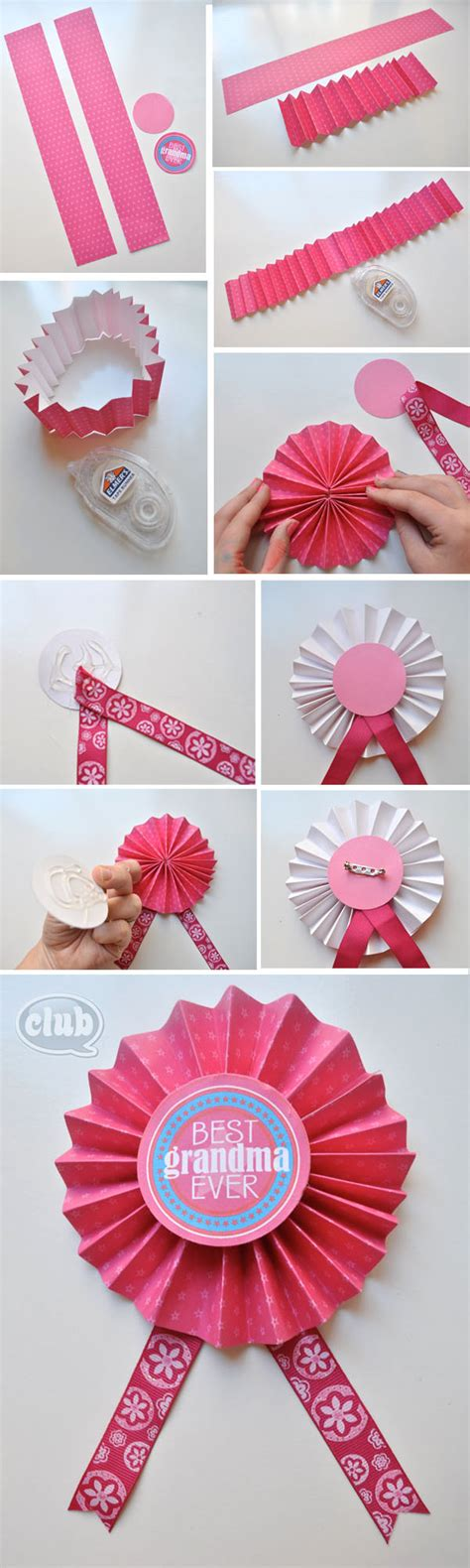 printable paper medals best grandma ever medal tutorial and mother s day printables
