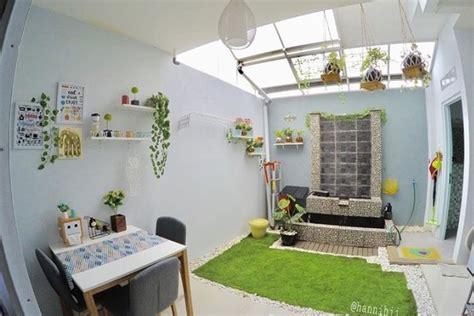 mungkinkah bikin taman indoor  rumah mungil