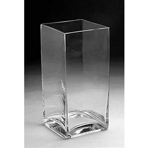 Rectangular Vases Cheap by Glass Rectangular Vase 12 Quot X 6 Quot