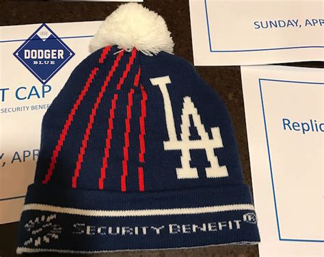 Dodgers Knit Cap Giveaway - dodgers 2017 beanie giveaway dodgerblue com