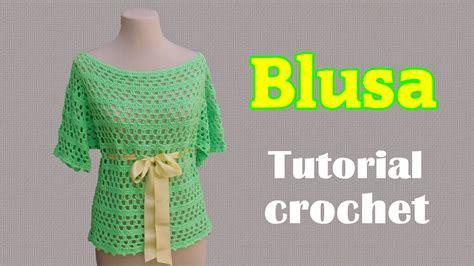 aprende a tejer blusas a crochet paso a paso learn knit easy crochet paso a paso crochet aprende a tejer paso a paso con