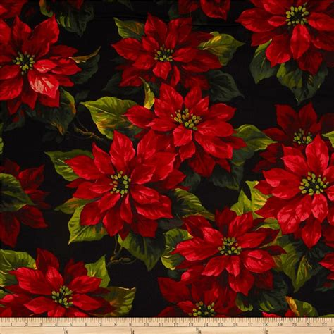 Tropical Pattern Curtains Christmas Fabric Cotton Print Fabric By The Yard
