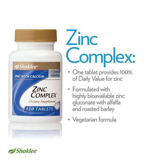Vitamin Zinc Shaklee zinc complex shaklee khazanah buat kaum adam