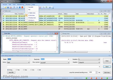 port monitor serial port monitor 6 0 235 filehippo