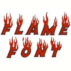 fire pattern font flame font by starbird inc home format fonts on