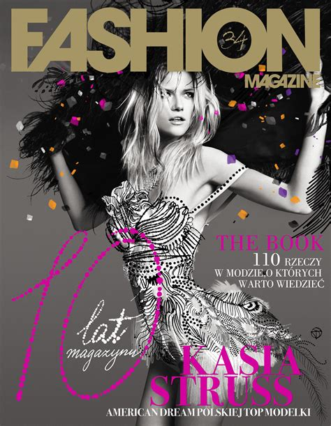 design fashion magazine exclusive kassia struss for fashion magazine s 10th