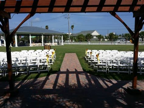 Wedding Venues Galveston by Galveston Island Palms Outdoor Events