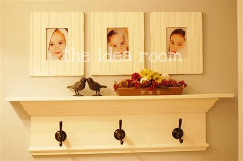 Bathroom Shelf With Towel Hooks by Diy New Bathroom Shelf With Towel Hooks The Idea Room