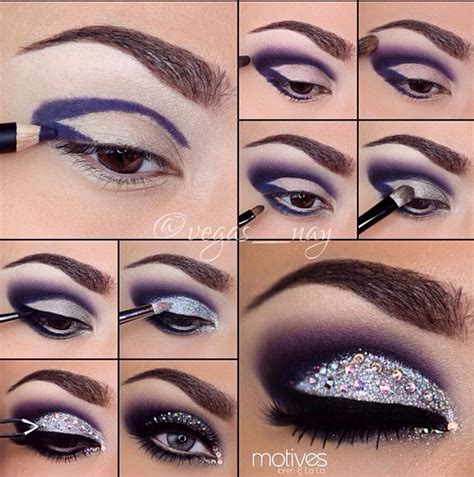 tutorial eyeliner silver best shimmer eyeshadow pictorial