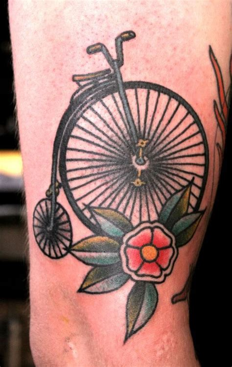 summer ready bicycle tattoos inky beer