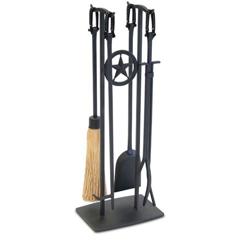 5 fireplace tool set 5 western black fireplace tool set 18059