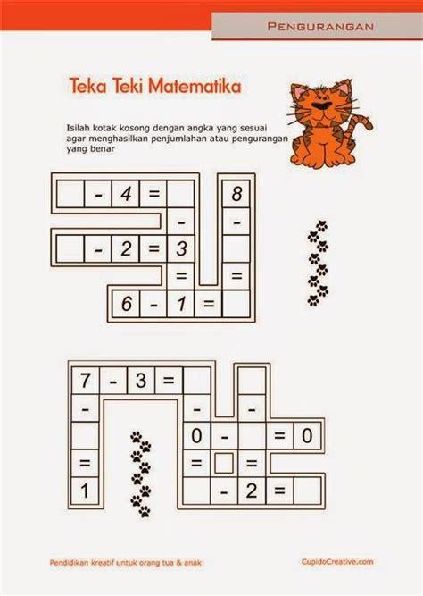 Jubah Anak Anak Usia Tk 6 Sd belajar anak sd matematika pengurangan 1 10 lembar kerja