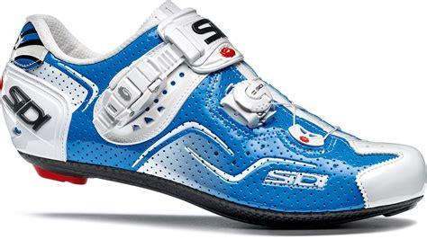 Kaos Minimalis Cycling Pedal Power sidi kaos air road cycling shoes blue white