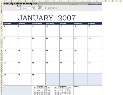 free calendar templates for mac free monthly calendar template mac